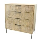 Hudgins 4 Drawer Chest by Foundry Select