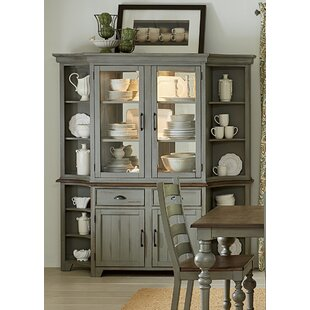 Lark Manor Serpentaire Lighted China Cabinet