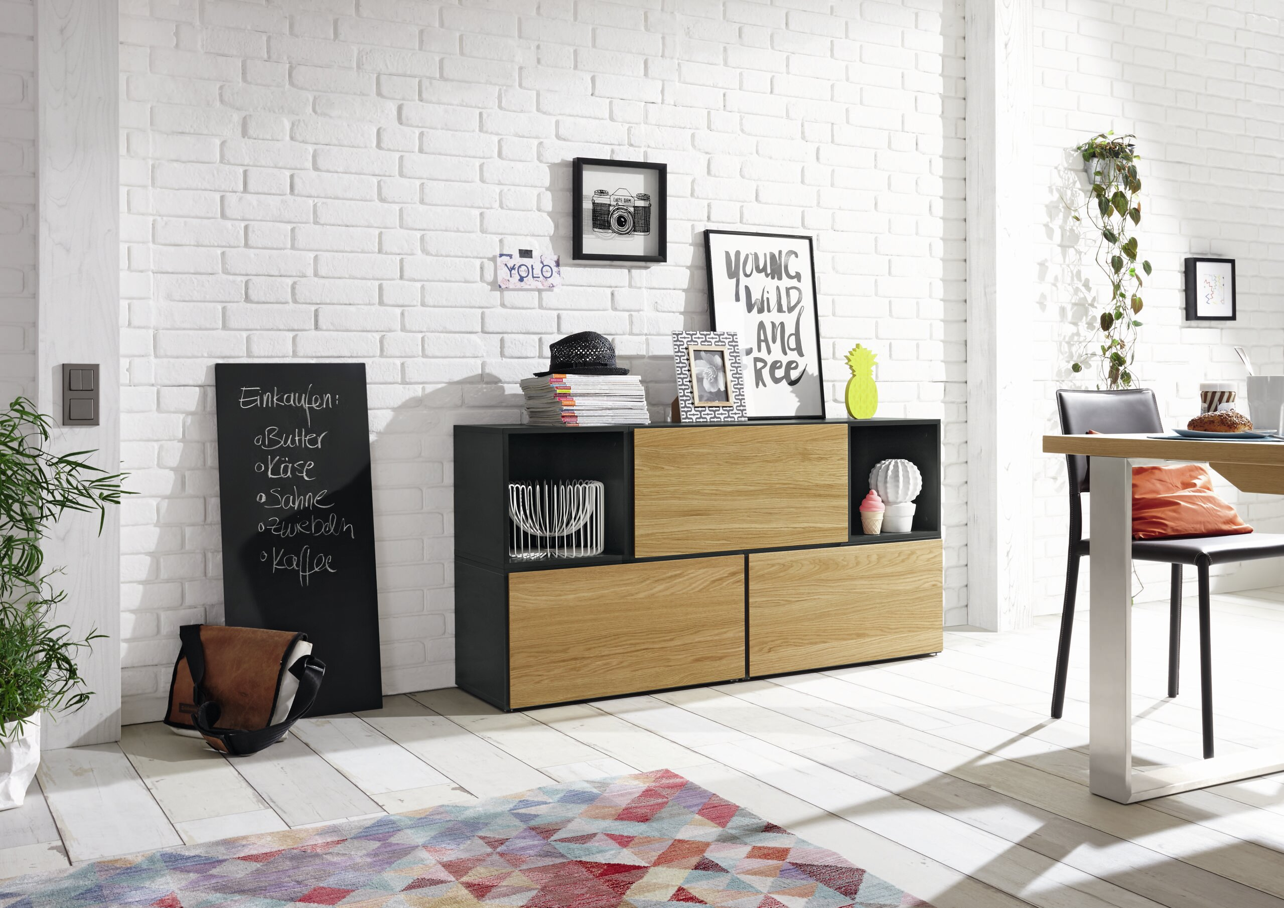 5 Tlg Highboard Set Now To Go