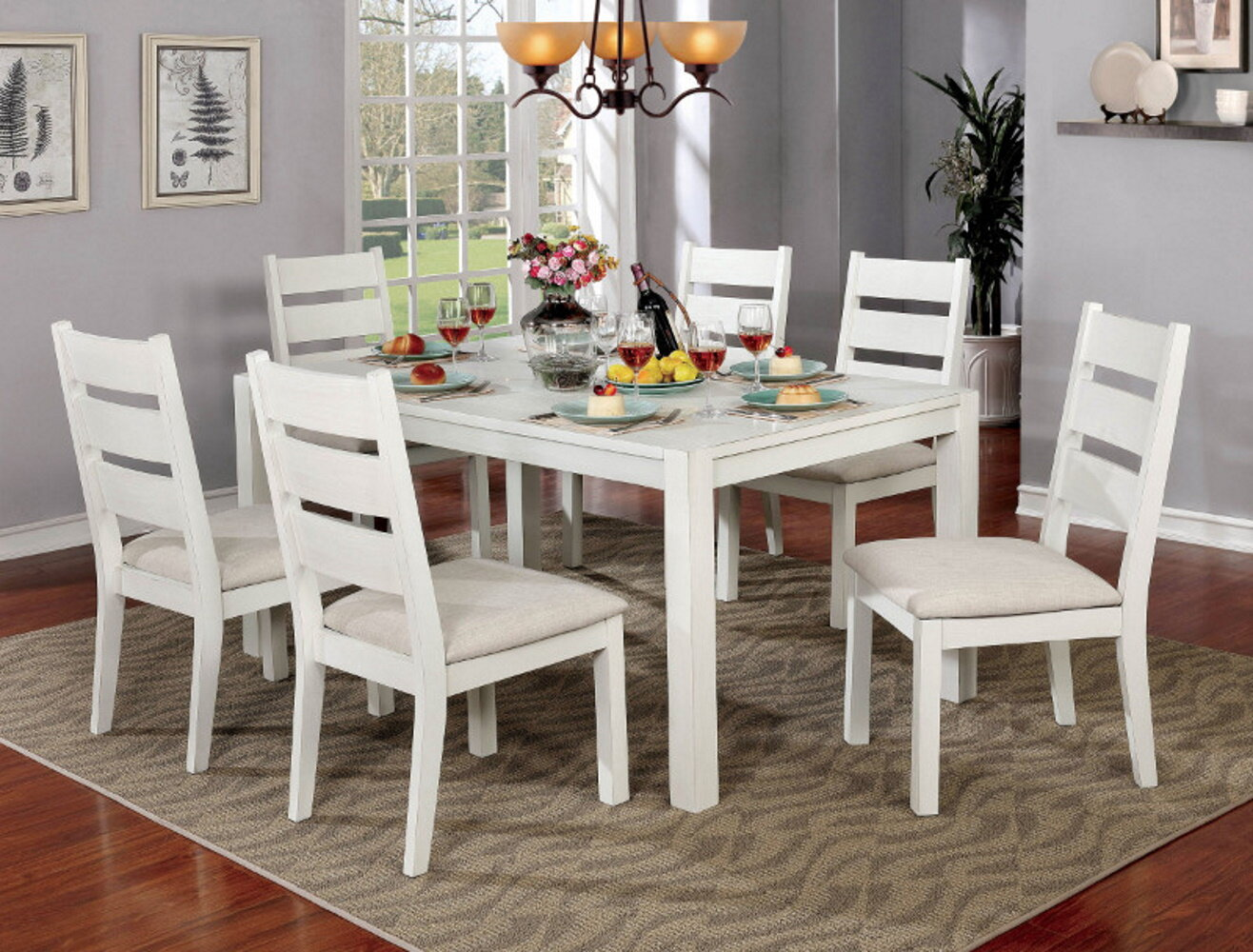Neil Dining Table with 6 Chairs