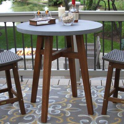 Jean Stone/Concrete Bistro Table by Alcott Hill