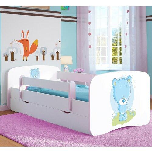 Funktionsbett Cate mit Matratze und Schublade | Schlafzimmer > Betten > Funktionsbetten | Weiß | Mdf - Holz | Roomie Kidz