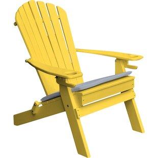 Yellow Adirondack Chairs