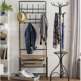 Honey Can Do Entryway Storage Hall Tree