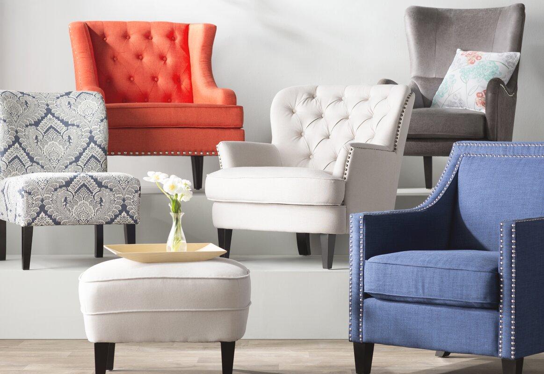 Chandler Side Chair Slipper Chair & Reviews | Joss & Main
