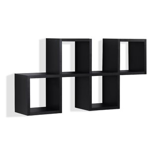 Duppstadt Cubby Chessboard Wall Shelf by Ivy Bronx
