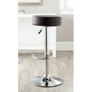 Greening Adjustable Height Swivel Bar Stool Orren Ellis