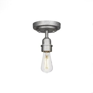 Alaniz 1-Light Semi Flush Mount by Williston Forge