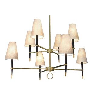 Jonathan Adler Ventana 8-Light Shaded Chandelier