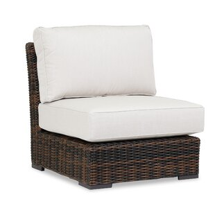 Sunset West Montecito Armless Patio Chair with Sunbrella Cushions
