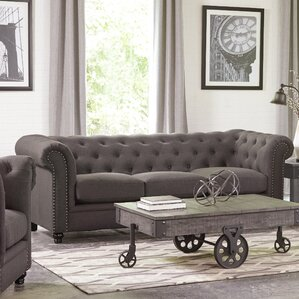 Vanallen Chesterfield Sofa by Darby Home Co
