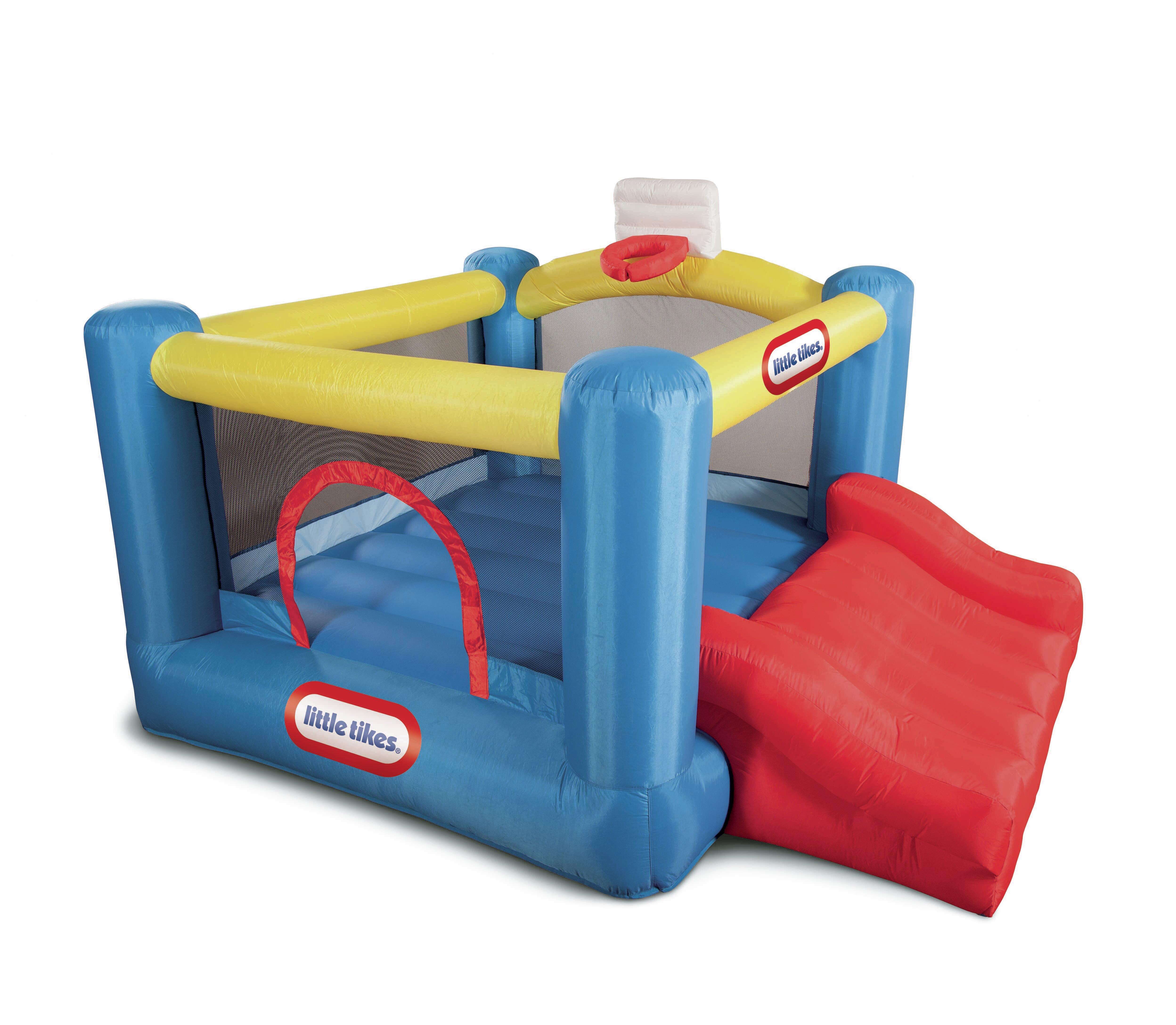 Little Tikes Jr. Sports \'n Slide Bounce House & Reviews | Wayfair
