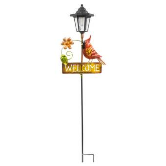 Red Barrel Studio Conner Angel With Halo Rusted Garden Stake Wayfair