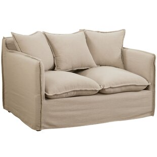 Kamanda Transitional Loveseat by Ebern Designs