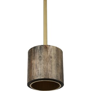 Sheehan 1-Light Cyliner Pendant by Union Rustic