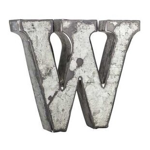Large Corrugated Metal Letters Corrugated Metal Letters  Wayfair
