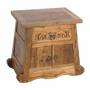 RajaStyle™ 2 Drawer Nightstand by EcoDecors