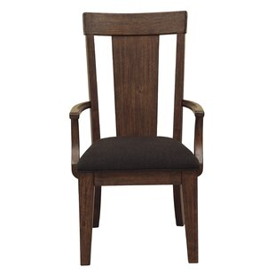 Gracie Oaks Wyckoff Upholstered Wood Dining Chair (Set of 2)