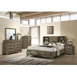 Demir Platform Solid Wood 5 Piece Bedroom Set by Red Barrel Studio