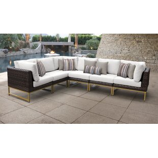 Barcelona Patio Sofa with Cushions