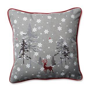The Reindeer Throw Pillow