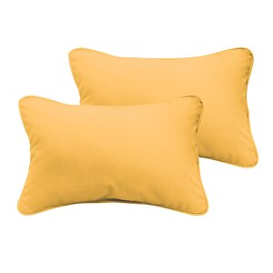 Branan Outdoor Lumbar Pillow (Set of 2)