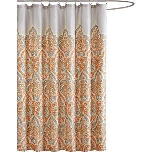 brown and orange shower curtain.  Teal And Orange Shower Curtain Wayfair