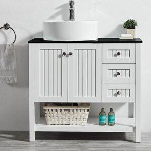 modena 36u201d single bathroom vanity set