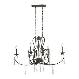 One Allium Way Pollitt 6-Light Chandelier
