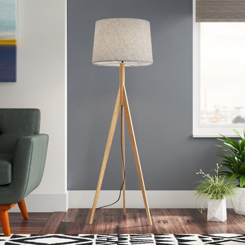 Boelter 59 25 Tripod Floor Lamp