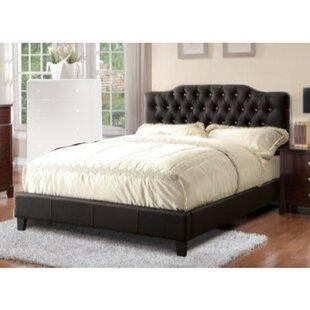 Darby Home Co Enloe Wooden Upholstered Platform Bed