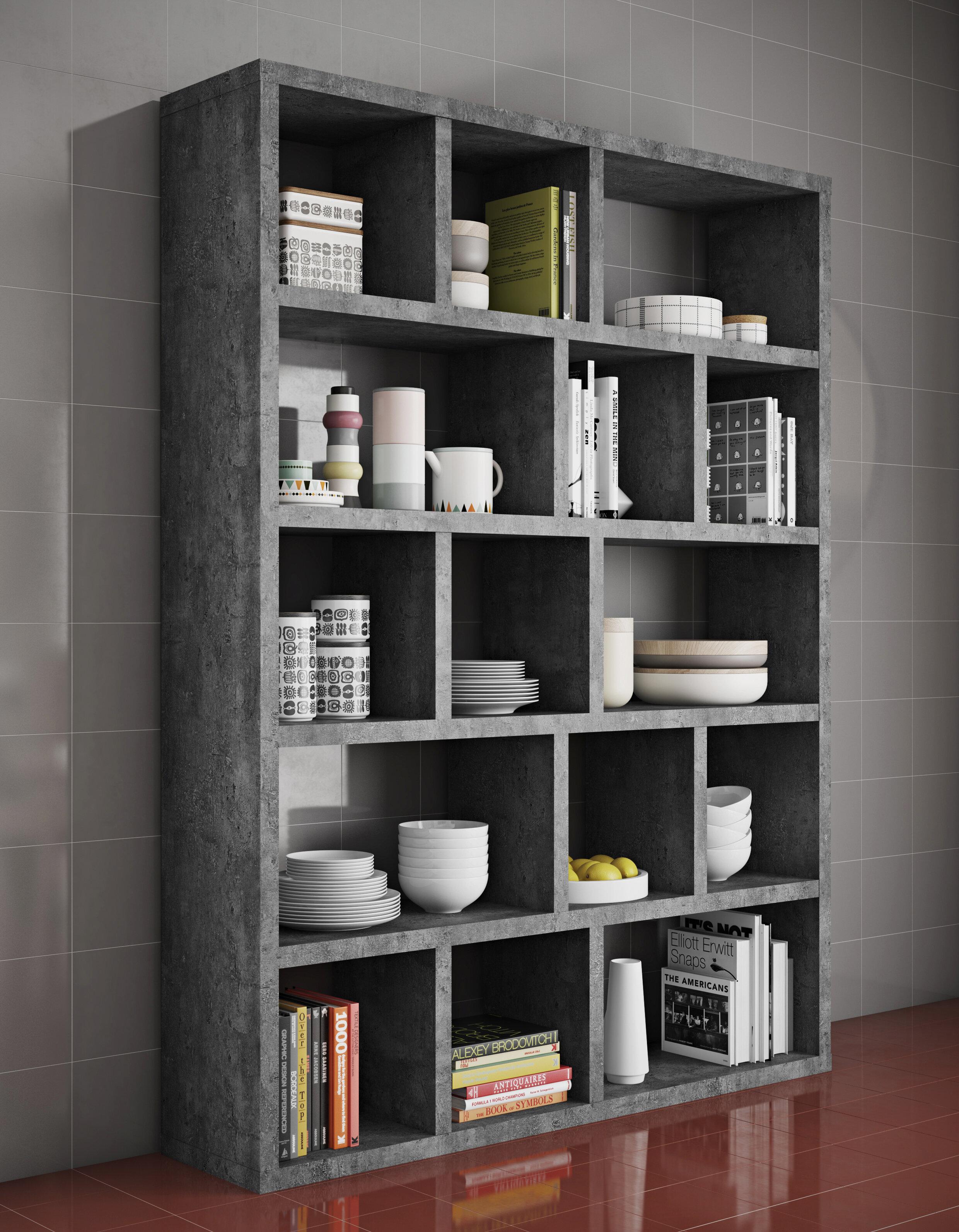 wayfair hekimhan co reviews pdp bookcase bookshelf letter furniture wharf borough uk