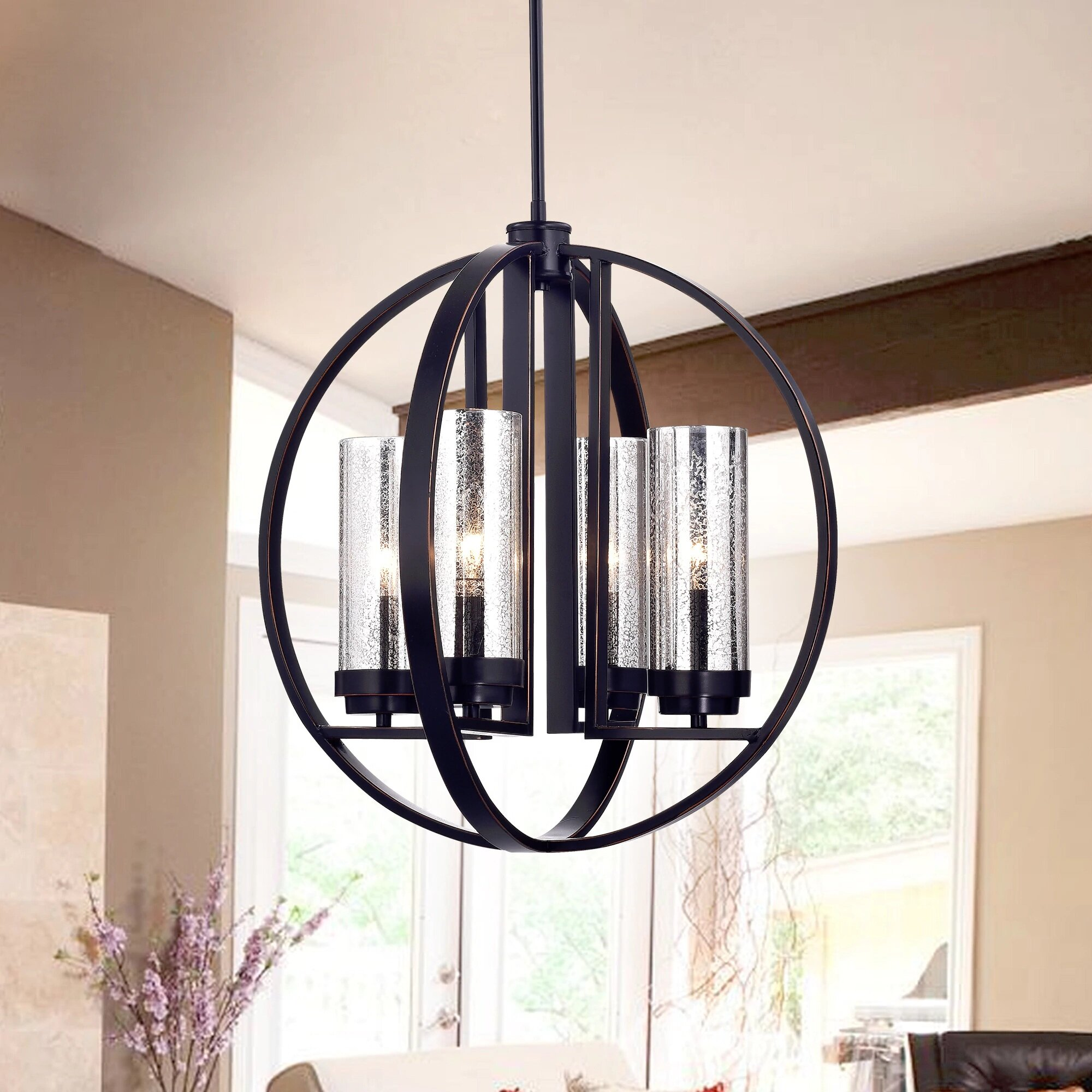 Minnetrista 4 Light Foyer Chandelier