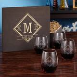 Cosby 21 oz. Stemless Wine Glass by Charlton Home