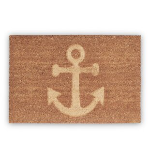 Anchor Doormat by Relaxdays