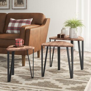 Bracy Multifunctional 3 Piece End Table