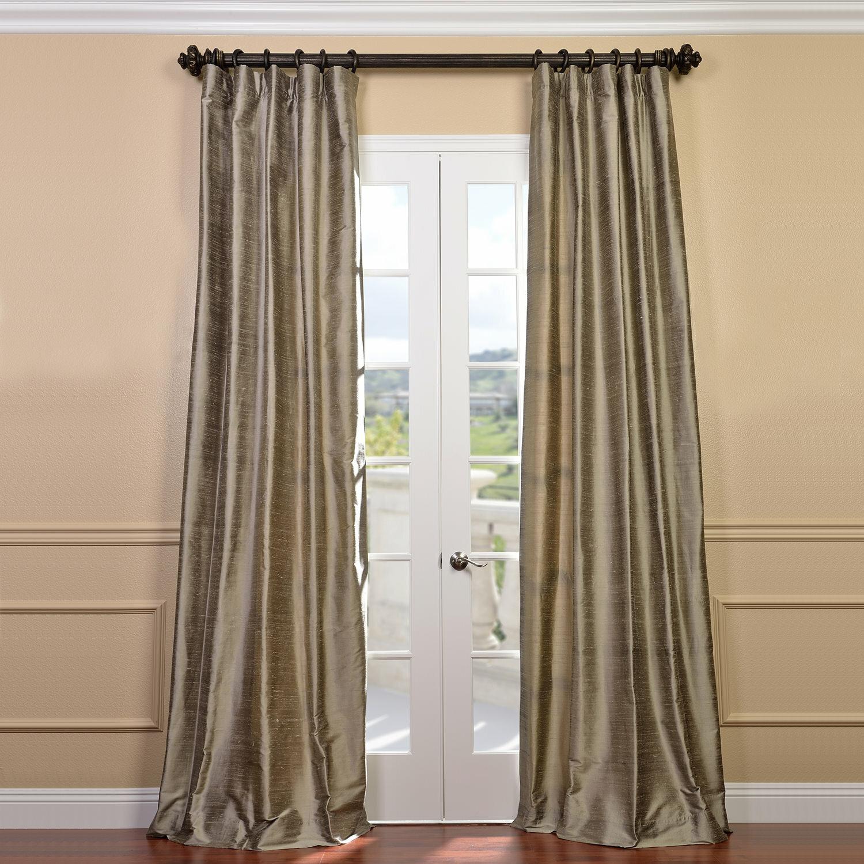 Willa Arlo Interiors Silk Room Darkening Thermal Rod Pocket Single Curtain Panel Reviews Wayfair