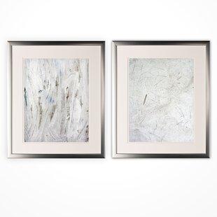 Modern White Framed Art