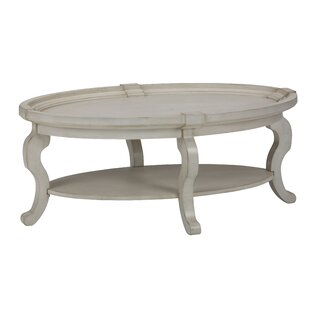 Daulton Transitional Mid-Century Wooden Coffee Table