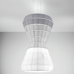 Burtrum 9-Light Geometric Chandelier by Orren Ellis