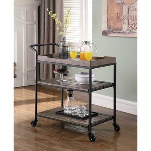 Dashiell Bar Cart by 17 Stories