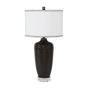 Hammered 29.5 Table Lamp