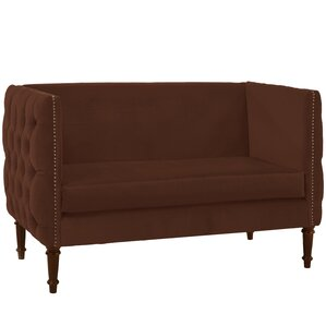 Lyric Chesterfield Settee by World Menagerie