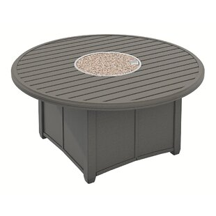 Tropitone Banchetto Round Fire Pit Table