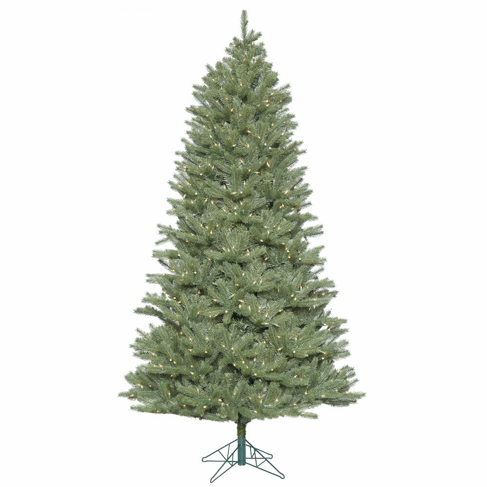 7.5\' Spruce Slim Artificial Christmas Tree with 800 Clear Lights