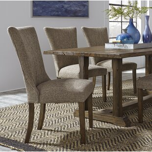 Check Prices Ogan Upholstered Dining Chair (Set of 2) by Loon Peak Reviews (2019) & Buyer's Guide