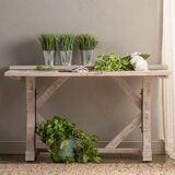 Persea 54 Solid Wood Console Table by Gracie Oaks
