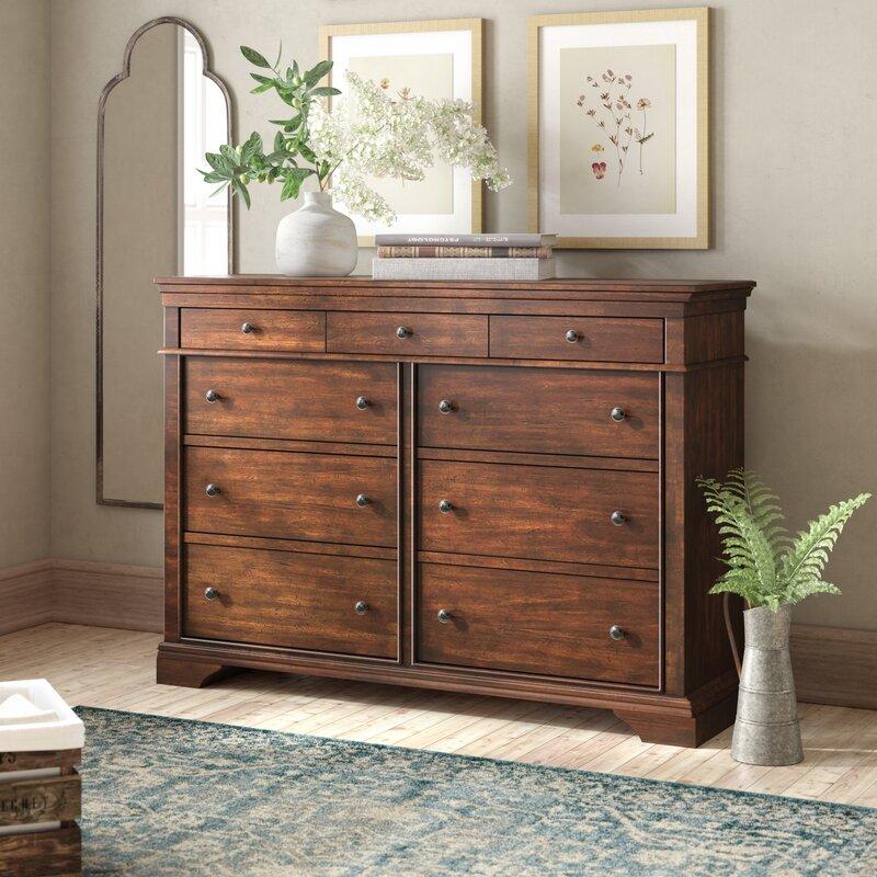 Birch Lane Heritage Schaffer 9 Drawer Double Dresser Reviews