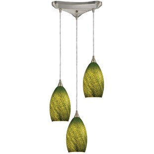 Jeannine 3-Light Cluster Pendant by Latitude Run