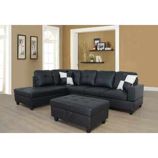 Thresa 103 Sectional With Ottoman by Winston Porter